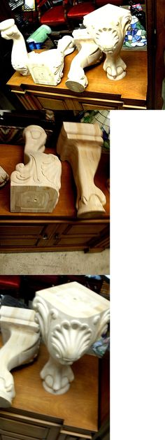Furniture Parts and Accessories  Carved Wood Leg Sofa