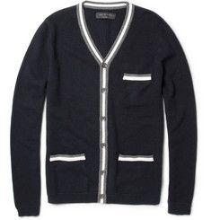 rag & boneWoven Wool and Cotton-Blend Cardigan