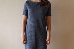 Simple Striped T-Shirt Dress