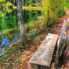 Wizard Falls near Camp Sherman in Central Oregon ----------------------- @ wildbillfox