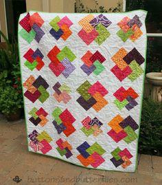 Buttons and Butterflies: Shuffle the Deck {Quilt}