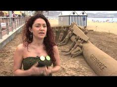 Nuestros primeros héroes por el clima son... ¡de arena!   Greenpeace España