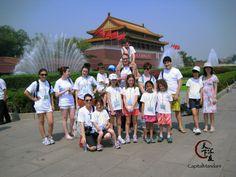 Grupo de estudiantes de Capital Mandarin en una tarde de excursión
