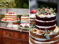 naked fall/winter cakes