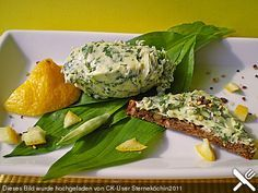 Bärlauch-Zitronen-Butter (Rezept mit Bild) von FlowerBomb   Chefkoch.de