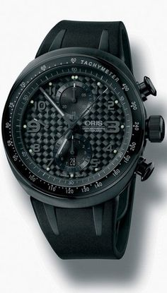 Oris TT3 Black Chronograph