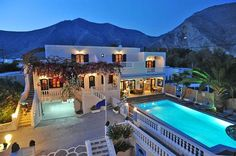 If I ever get to Greece- Stelios Place Hotel. Beautiful and cheap!