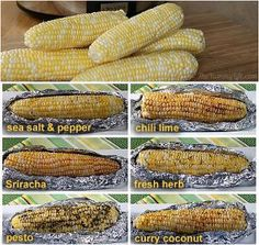 Spice up your corn with these ideas for Corn on the Cob Six Ways. You'll find six different ways to flavor corn, including chili lime, pesto, and curry coconut. You'll add excitement to your summer meals with these corn on the cob recipes. Most of these methods require few ingredients, making them simple to prepare. Plus, the corn cooks all day, meaning you can set it and forget it. Serve your slow cooker corn on the cob at your next barbecue or gathering.