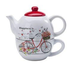 Kuvahaun tulos haulle tea for one set Tea For One, Tea Pots, Tableware, Happy, Anniversary, Teapot, Paper Board, Packaging