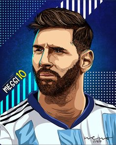 Soccer Drawing, Lionel Messi Wallpapers, Leonel Messi, Messi 10, Football Art, Black Panther Marvel, Profile Pics, Fc Barcelona, Caricature