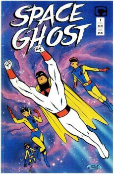 Space Ghost Comico Steve Rude Artwork for sale online Classic Cartoon Characters, Cartoon Tv Shows, Classic Cartoons, Hanna Barbera, Space Ghost, Old School Cartoons, Old Cartoons, Comic Book Covers, Comic Books Art