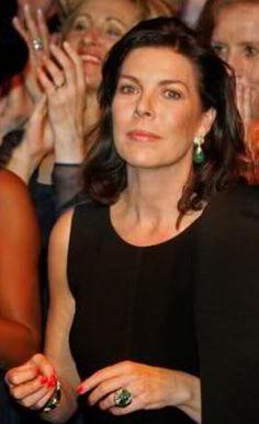 Princess Caroline of Monaco, daughter of Prince Rainier and Princess Grace
