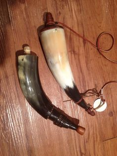 Vintage Mountain Man Powder Horn muzzleloaders by WesternGalleries, $28.00