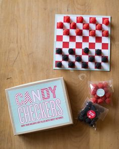 Craft Pack Candy Checkers- I can give these to the teachers with the candy  machines!