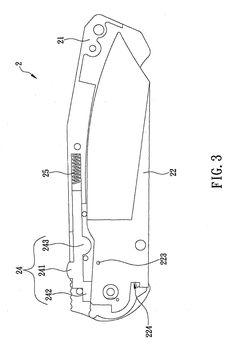 Brevet US20130133205 - Assisted opening folding knife with sliding key - GoogleBrevets