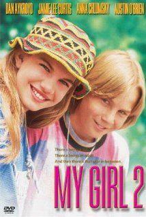 My Girl 2 ~ Dan Aykroyd, Jamie Lee Curtis, Anna Chlumsky 90s Movies, 2 Movie, Love Movie, Great Movies, Movies To Watch, Comedy Movies, Drama Movies, Eminem, Anna Chlumsky