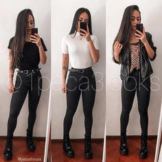 Simple Summer Outfits, Stylish Work Outfits, Cool Outfits, Casual Outfits, Jean Dress Outfits, Denim Outfit, Tumblr Outfits, Winter Fashion Outfits, Girl Fashion