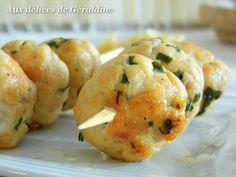 Aux délices de Géraldine: Boulettes de poulet au parmesan façon brochette