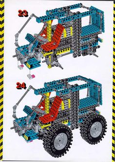 LEGO 8859 Tractor instructions displayed page by page to help you build this amazing LEGO Technic set Lego Tractor, Tractors, Lego Technic Sets, Classic Lego, Lego 4, Lego Group, Lego Instructions, Lego Sets, My Childhood