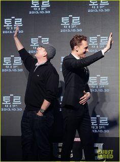 Tom Hiddleston &