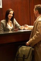 Why Your Hotel Front Desk Manager is One of Your Most Important Hires. Hotel Jobs, Hotel Services, Travel Tips, Travel Hacks, Travel Agency, Blog Tips, Front Desk, Boss Lady, Business Women