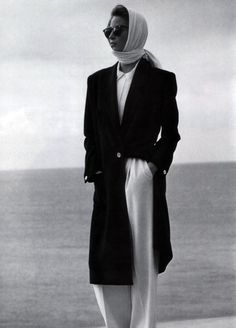 """inspiration for www.duefashion.com """" Calvin Klein, American Vogue, March 1989. """""""