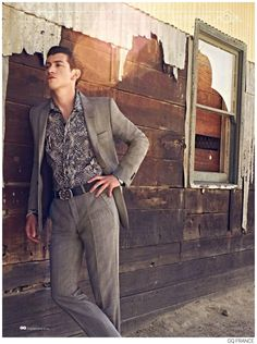 Arctic Monkeys Alex Turner Stars in Western Themed Shoot for GQ France September 2014 Issue image Alex Turner Arctic Monkeys GQ France Septe...