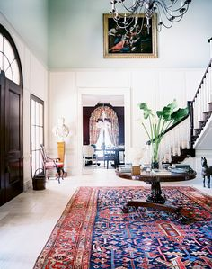 Home Tour: Inside a Classical Hamptons Mansion | DomaineHome.com
