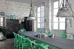 grey/gray interior Paris-Apartment10