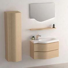 Armoire de toilette éclairante pour salle de bain, équipé de 2 ...