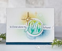 Hope Is Found Card by Betsy Veldman for Papertrey Ink (October 2016)