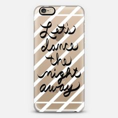 Let's Dance the Night Away - stripes  - Classic Snap Case