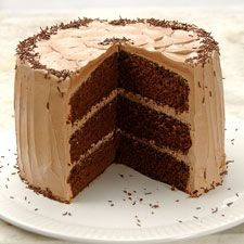 A fine-grained, tender cake with rich chocolate flavor, perfect for adults and kids alike. Cakes To Make, How To Make Cake, Cupcakes, Cake Cookies, Cookies Et Biscuits, Cupcake Cakes, Best Chocolate Cake, Homemade Chocolate, Chocolate Recipes