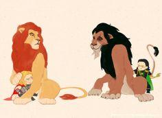 lion king thor mash up