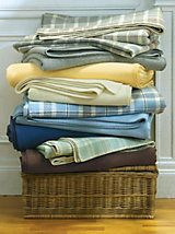 Easy Care Washable Wool Blanket by Pendleton   LinenSource
