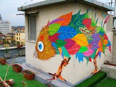 Gola Hundun | urban street artists, graffiti art, urban art