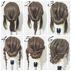 Simple hairstyles medium length hair - New hairstyles 201 .- Einfache Frisuren mittellanges Haar – Neu Haare Frisuren 2018 Simple hairstyles medium length hair hair it Yourself hair - Braided Hairstyles For Wedding, Up Hairstyles, Hairstyle Ideas, Easy Formal Hairstyles, Prom Hairstyles For Medium Hair, Wedding Hairstyles Tutorial, Easy Homecoming Hairstyles, Step By Step Hairstyles, Updo Hairstyles Tutorials