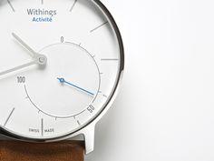 高級なスイス製のアナログ腕時計に見えるが、実はフィットネス・トラッカーという「Withings Activité」が、事前注文の受付を開始した。動画で紹介。