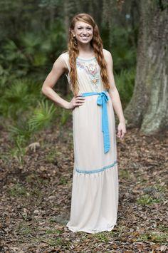 Goddess Ivory Dress - Retro Darling