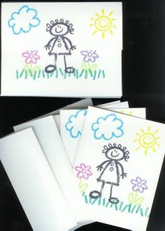 Crayon Kids Card Caddy by stuckonstamping - Cards and Paper Crafts at Splitcoaststampers