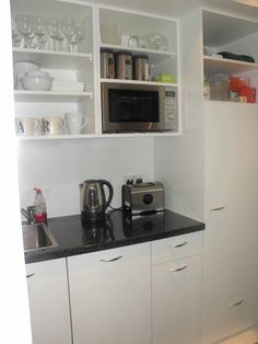 Beau PROJECT   Office Kitchen In London, Bespoke Hideaway By John Strand MK. A  Kitchen. Small Kitchen DesignsSmall ...