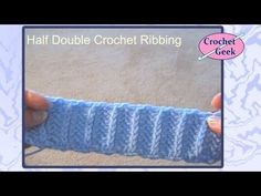 Crochet Knotted Stitch - YouTube