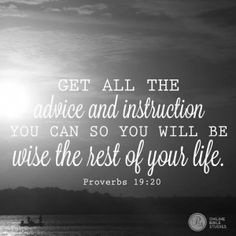 Proverbs 19:20 - Week Three - The Best Yes 10/13/14