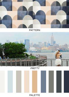Pattern Pretty Palette | 4 | Brooklyn Bride - Modern Wedding Blog