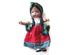 Antique Mexican Composite Doll by PhotosPast on Etsy, $10.00