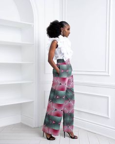 2021 Fashionable Ways to Wear Ankara Pants for Ladies | OD9jastyles