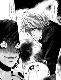 When people wake me up in the morning.......... (Junjou Romantica)
