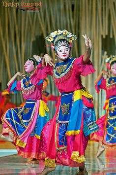 Tunggal Mask dance | Flickr - Photo Sharing!