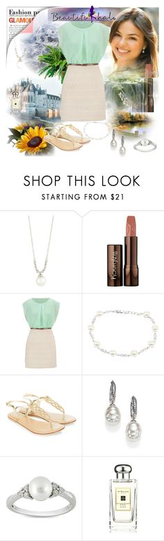 """Take #201"" by sasane ❤ liked on Polyvore featuring Belpearl, Hourglass Cosmetics, maurices, Lido Pearls, Accessorize, Majorica, Ice, Jo Malone, women's clothing and women's fashion"