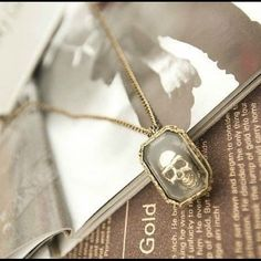 """Selling this """"Skull Necklace"""" in my Poshmark closet! My username is: ntracy21. #shopmycloset #poshmark #fashion #shopping #style #forsale #Accessories"""